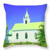 Saint Benedict Throw Pillow