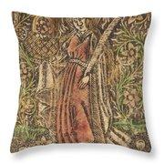 Saint Dorothy Throw Pillow