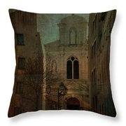 Saint Etienne Re-imagined Throw Pillow