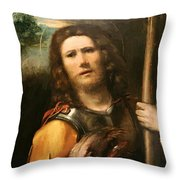 Saint George 1513 Throw Pillow