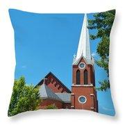 Saint George Church Throw Pillow