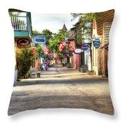 Saint George Street Throw Pillow