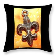 Saint Heart Throw Pillow