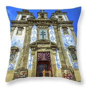 Saint Ildefonso Church Throw Pillow