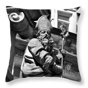 Saint In Vary Throw Pillow
