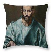 Saint James The Elder Throw Pillow