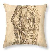 Saint James The Less Throw Pillow