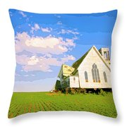 Saint John Throw Pillow