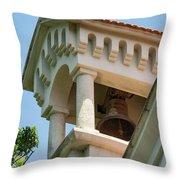 Saint John The Baptist Bell Tower Throw Pillow