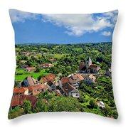 Saint-laurent Landscape Throw Pillow