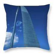 Saint Louis Arch Throw Pillow