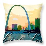 Saint Louis Throw Pillow