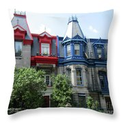 Saint Louis Square 6 Throw Pillow