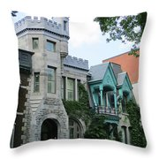 Saint Louis Square 8 Throw Pillow