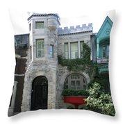 Saint Louis Square 9 Throw Pillow