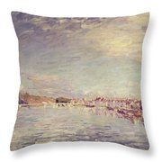 Saint Mammes Throw Pillow