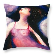 Saint Marcela Throw Pillow