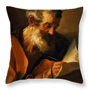 Saint Mark 1621 Throw Pillow