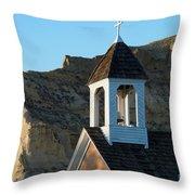 Saint Mary Catholic Church Throw Pillow