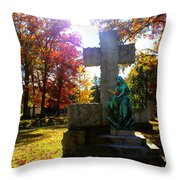 Saint Mary Throw Pillow