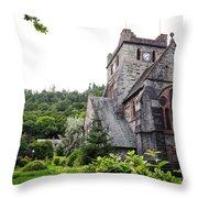 Saint Marys Church Throw Pillow