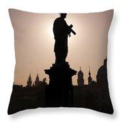 Saint Throw Pillow