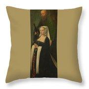 Saint Paul And A Donatrix Throw Pillow