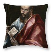 Saint Paul Throw Pillow