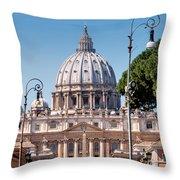 Saint Peter's Tomb Throw Pillow