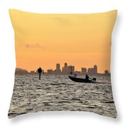 Saint Petersburg Florida Throw Pillow