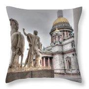 Saint-petersburg Russia Throw Pillow