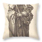 Saint Simon Throw Pillow