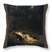 Saint Stephen Throw Pillow