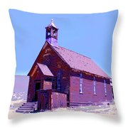 Saint Teresa Throw Pillow