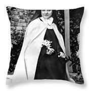 Saint Therese De Lisieux Throw Pillow