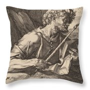 Saint Thomas Throw Pillow