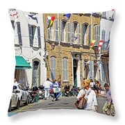 Saint Tropez Moment Throw Pillow