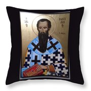 Saint Vasilios Throw Pillow