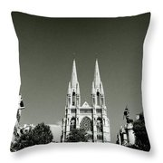 Saint Vincent De Paul Marseille Throw Pillow