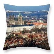 Saint Vitus Cathedral 2 Throw Pillow
