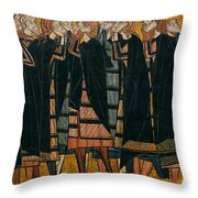 Saints Throw Pillow