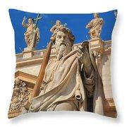 Saints Throw Pillow