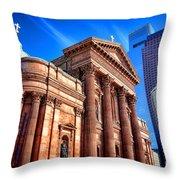 Saints Peter And Paul In Philadelphia   Throw Pillow