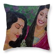 Sakhi Throw Pillow
