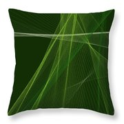Salad Computer Graphic Line Pattern Throw Pillow