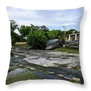 Salado Creek Throw Pillow