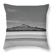 Salar De Uyuni No. 222-2 Throw Pillow