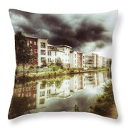 Sale Canal Throw Pillow by Isabella F Abbie Shores FRSA