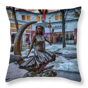 Salem Is Bewitched Throw Pillow