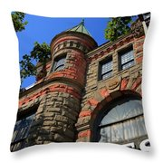 Salem Storefront 3882 Throw Pillow